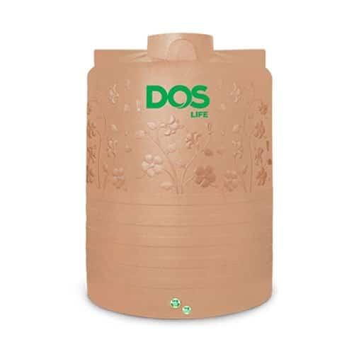 ถังเก็บน้ำบนดิน DOS CHABA AG+ Combac ขนาด 5000 ลิตร