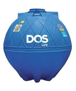 ถังเก็บน้ำใต้ดิน DOS GOLD ขนาด 6000 ลิตร