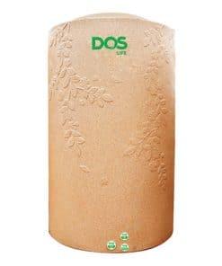 ถังเก็บน้ำบนดิน DOS ROSEMARY Ag+ Combac ขนาด 700 ลิตร