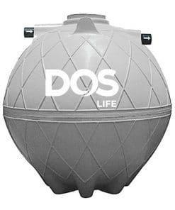 ถังบำบัดน้ำเสีย DOS COMPACT ขนาด 3000 ลิตร