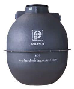 ถังบำบัดน้ำเสีย PREMIER รุ่น ECO TANK ขนาด 5000 ลิตร